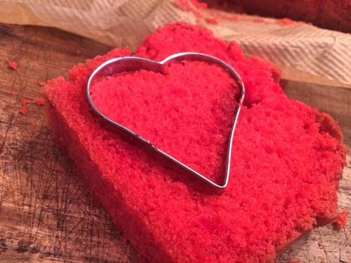 Valentinstag Kuchen Mit Herz Ohne Spezielle Backform