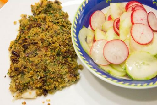 mediterran überbackenes Fischfilet_mit Salat-2415